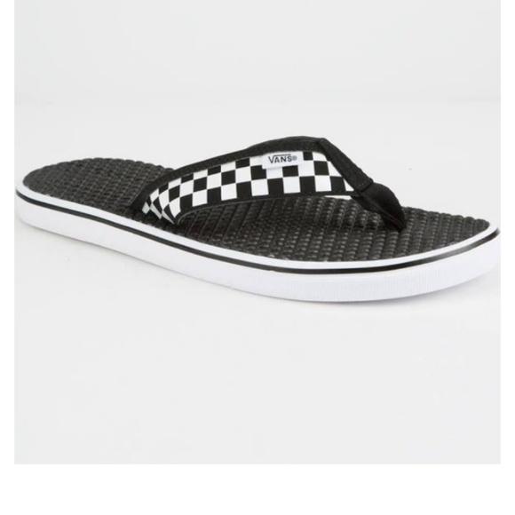 a8f225a4f9 Vans La Costa Lite Sandals - Black White sz12. M 5c7c2ab95c4452730ef5a865